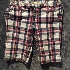 Bermuda Plaid Shorts